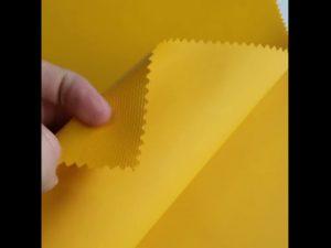 100% πολυεστέρα υφασμάτινο ύφασμα σακιδίου πλαστικοποίησης πλαστικό oxford PVC
