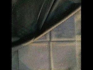 160gsm πολυεστέρα στημόνι πλεκτό ύφασμα πλέγματος για στρατιωτικό γιλέκο
