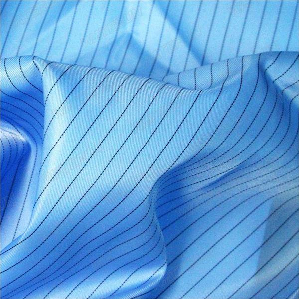 Υφασμάτινο ύφασμα 5mm-strip-twill-πολυεστέρα-αντιστατικό
