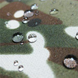 teflon 100% πολυεστέρα υφασμένα αδιάβροχο εξωτερικό στρατιωτικό ύφασμα καμουφλάζ σακάκι βροχής