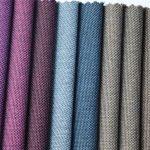 χονδρικό πολυεστερικό δίχρωμο χρωματικό ύφασμα oxford για υλικό τσάντας