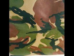 καμουφλάζ τυπωμένο αδιάβροχο ripstop nylon oxford ενιαίο στρατιωτικό ύφασμα