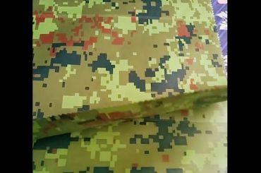 china κατασκευαστής χονδρικής camouflage ανάγλυφο ύφασμα geotextile βροχοπτώσεων για εξωτερικό ύφασμα